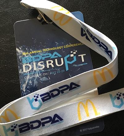 McDonald's is a National BDPA Sponsor