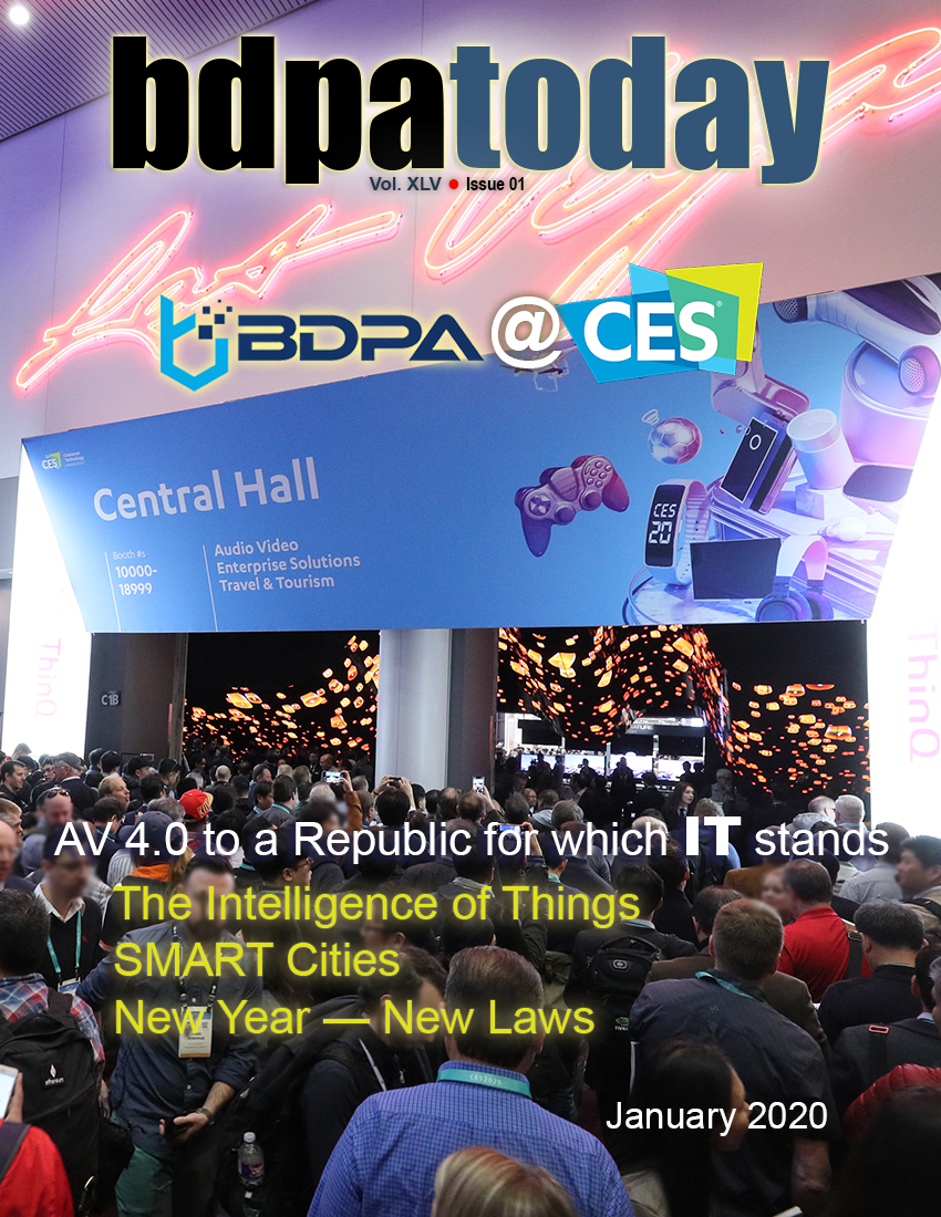 JANUARY | 2020 • BDPA @ CES Special Edition