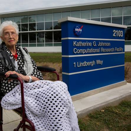 "NASA ""Human Computer"" Katherine G. Johnson"