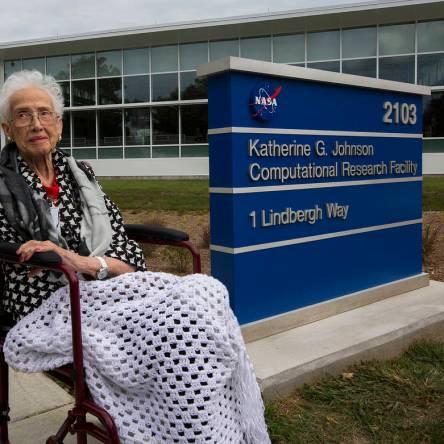 "NASA ""Human Computer"" Katherine G. Johnson"