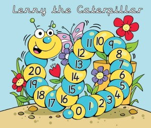 Lenny the Counting Caterpillar
