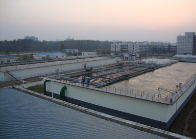 Municipal Wastewater Treatment Plant, Jiangsu, China