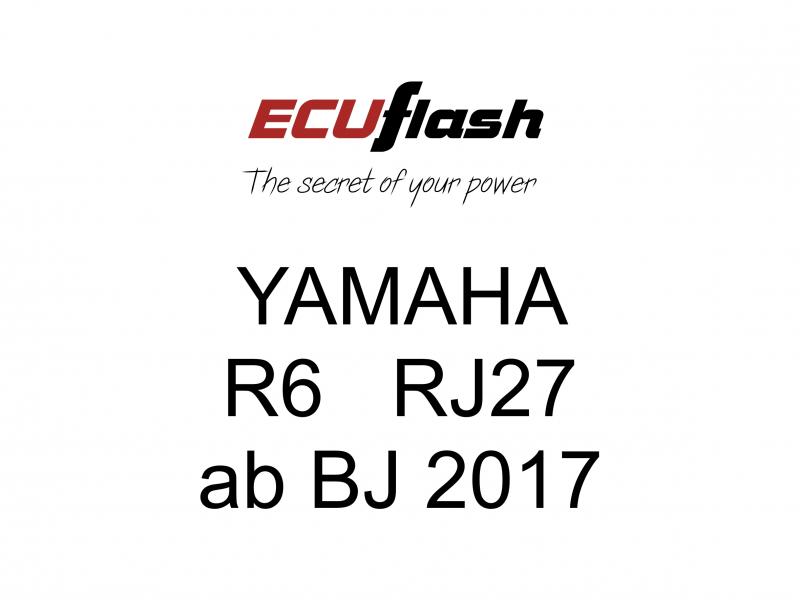 ECUflash Yamaha R6 2017 Tuning Akrapovic BMCFilter ESE O2