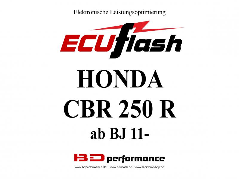 ECUF HON CBR250RR Tuning Akrapovic ESE O2 Controller RB