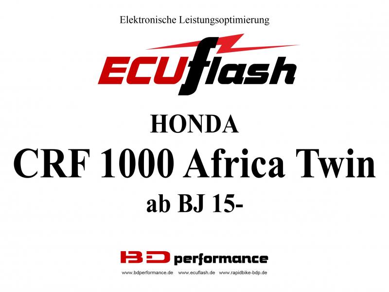 ECU HON AFRICA BJ15- Tuning Akrapovic ESE O2 Controller RB