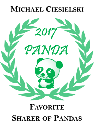 Michael is a Kappa Sigma Brother of mine from the first chapter I ever advised outside of my own. He has completely enabled my Panda Love and posts frequently of all things panda on my platforms. Follow Michael on Facebook!
