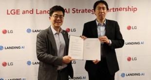 Stratégiai együttműködésre lép az LG és a Landing AI