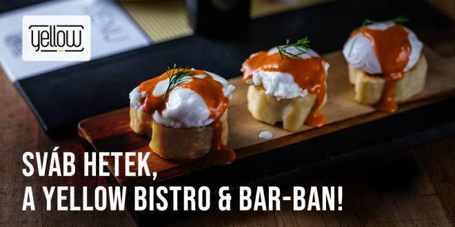 Sváb Hetek a Yellow Bistro & Bar-ban