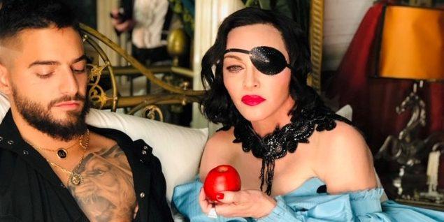 Hoppá! 35 évvel fiatalabb pasit ostromol Madonna