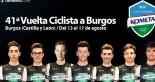 Dina Mártonnal érkezik a Kometa Cycling Team a Vuelta a Burgos kerékpáros körversenyre