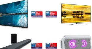 Az LG mesterséges intelligenciával felszerelt televízióját és audioeszközeit díjazta az EISA