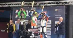 Szenzációs teljesítmény, Rossi Moor ezüstérmes az Olasz utánpótlás élvonalában!
