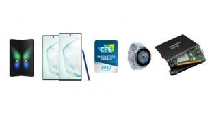 A Samsung 46 megoldása nyerte el a CES 2020 Innovációs Díját