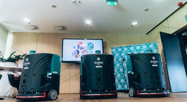Saját fejlesztésű takarítórobotot mutatott be a B+N Referencia Zrt.: ROBIN