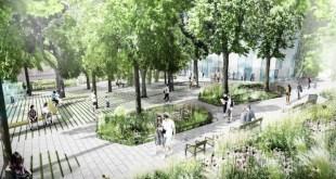 Hűsölő parkot hoznak létre Bécsben