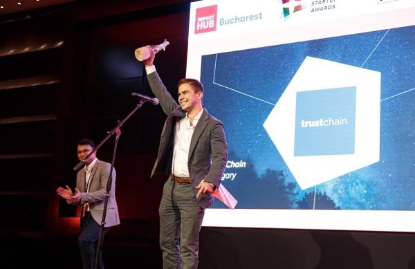 A TrustChain a legjobb közép-európai feltörekvő startup