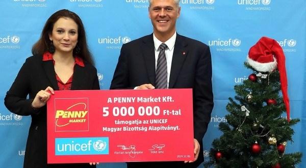 Felelősen a kora gyermekkorért! –A Penny Market és az UNICEF Magyarország közös, társadalmi felelősségvállalási akciója
