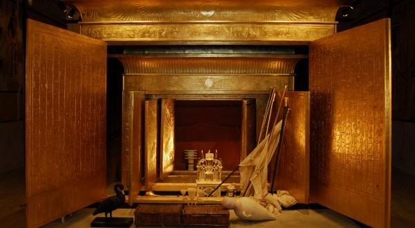 A Tutanhamon- Rejtélye és Kincsei kiállítást április 26-ig meghosszabbítottak