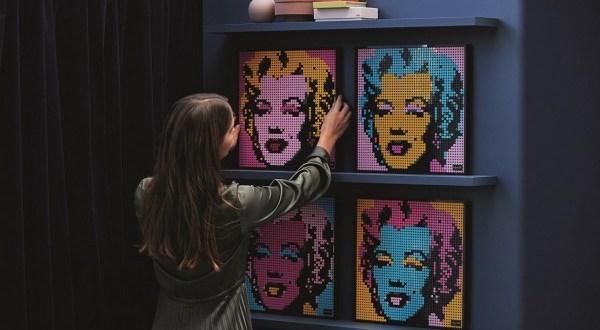 Szenvedélyből művészet: a LEGO Csoport visszahozza a pop-art stílust a felnőtt építők életébe