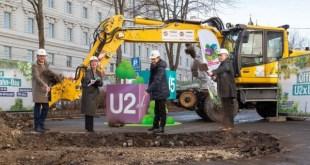 Megkezdődött az U2/U5-ös metró építése Bécsben