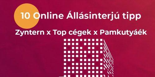 Online Állásinterjú Tippek top cégektől és Pamkutyáéktól