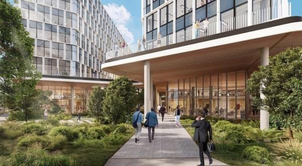 A Skanska újabb egészséges épületet hoz létre Budapesten