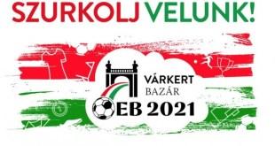 Szurkoljunk együtt a magyar válogatottnak a Várkert Bazárban!
