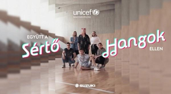 TikTokon kampányol az online bántalmazás ellen az UNICEF Magyarország