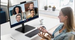 Webkamerás monitor a Samsungtól