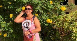 Bódi Margó Egyiptomban nyaralt