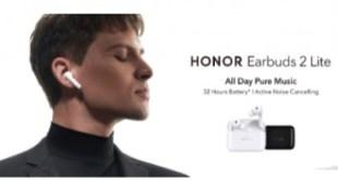 Megérkezett a HONOR Earbuds 2 Lite fülhallgató hosszú üzemidővel és továbbfejlesztett hangzással