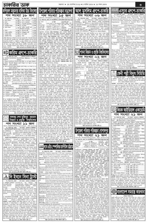 weekly job neewspaper