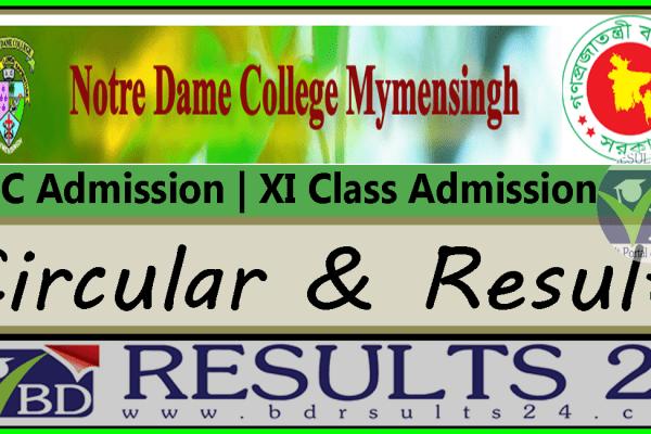 Notre Dame College Mymensingh HSC Admission