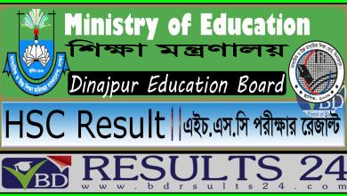 HSC Result Dinajpur Education Board