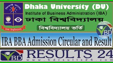 Dhaka University IBA BBA Admission
