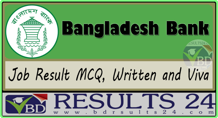 Bangladesh Bank Job Result