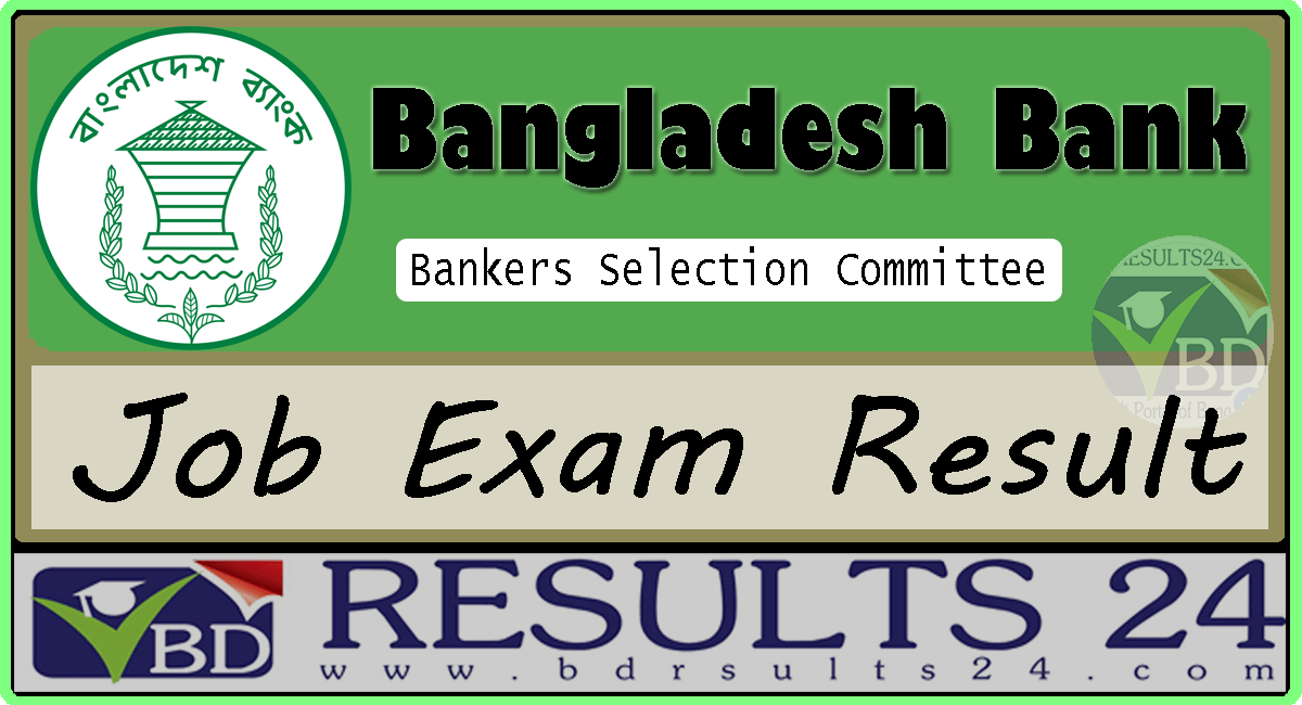 Bankers Selection Committee Job Result 2021