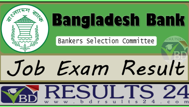 Bankers Selection Committee Job Result