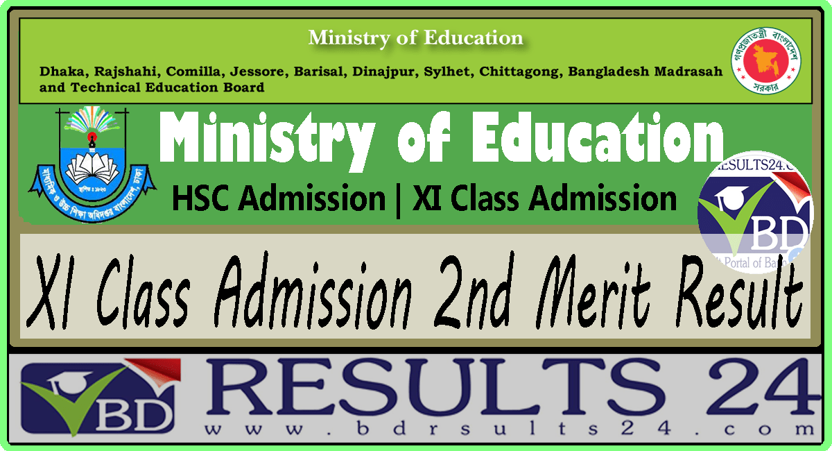 XI Class Admission 2nd Merit Result