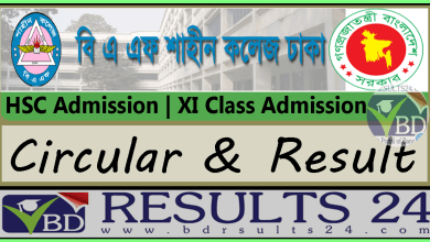 BAF Shaheen College Dhaka HSC Admission