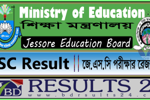 JSC Result Jessore Education Board