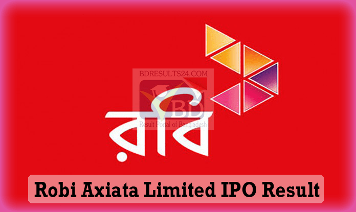 Robi IPO Lottery Result pdf Download | robi.com.bd