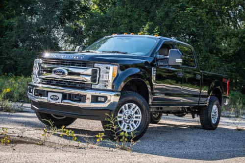 small resolution of 2017 ford f250 w bds 2 leveling kit and 34 tires
