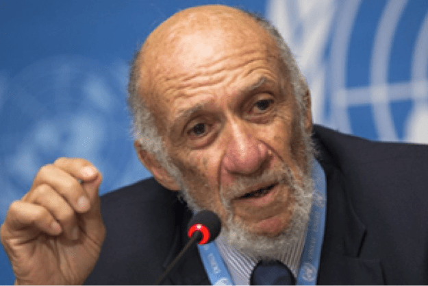 Professor Richard Falk speaks at NSW Parliament on 'A future for Palestine – BDS, international law and beyond'