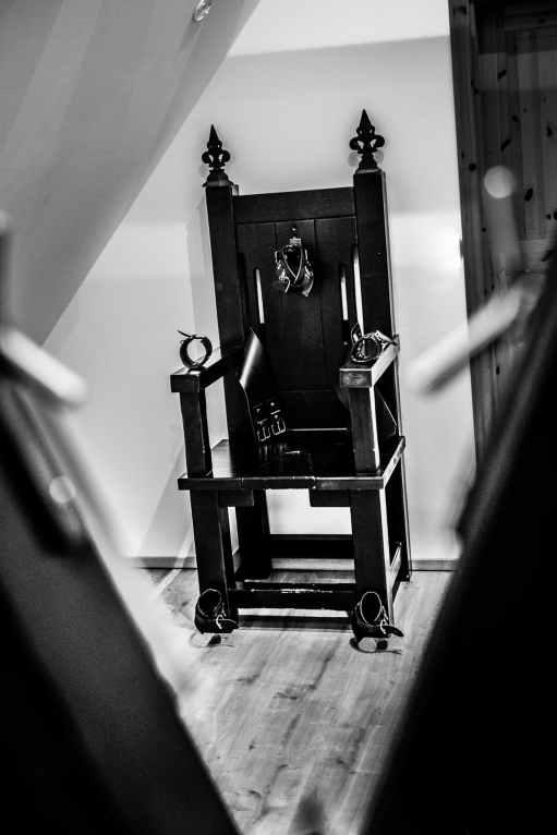 Sklavenstuhl im Ferienhaus