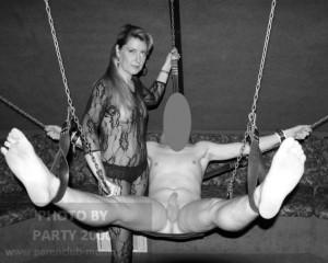 sling voor sub slaaf slavin