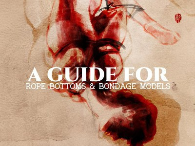 A guide for rope bottoms and bondage models