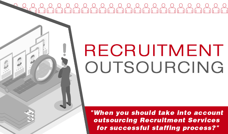 When you should take into account outsourcing Recruitment Services for successful staffing process?