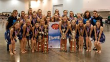 Girl School Dance Team