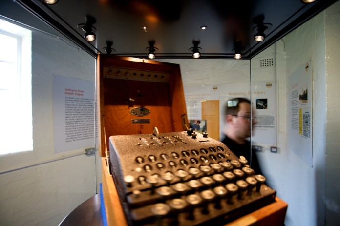 Enigma machine - encryption